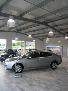 garage automobile à Sablé sur Sarthe - Dominique CHAPLET Architecte