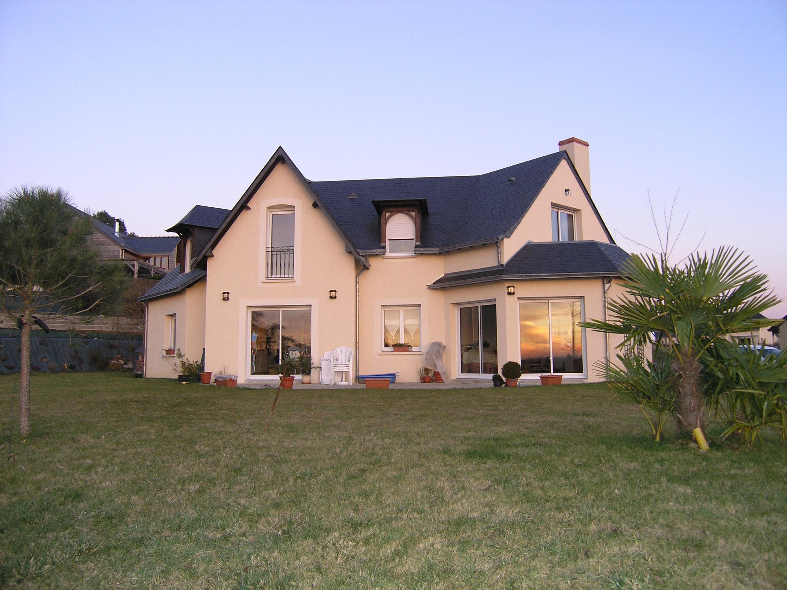 L 39 habitation dominique chaplet architecte dplg - Taxe habitation construction neuve ...