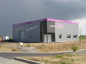 Bâtiment artisanal à Corné - Dominique Chaplet Architecte