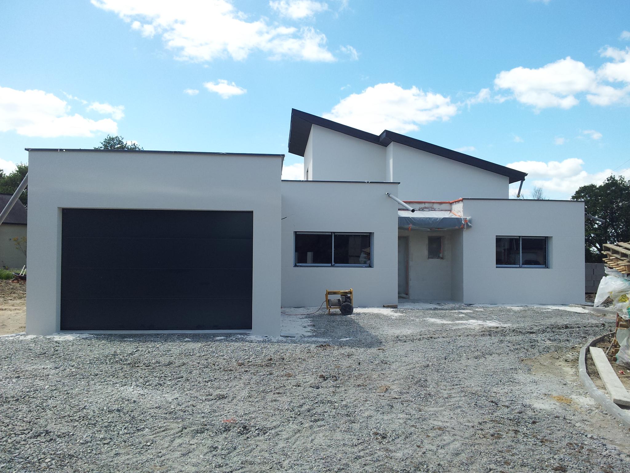 La maison neuve dominique chaplet architecte dplg for Habitation neuve