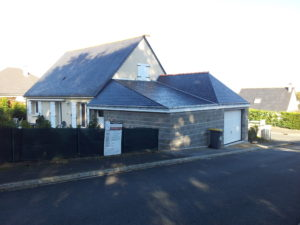 extension d'habitation à La Chapelle Saint Laud (49)
