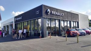 Construction d'un Garage Renault - D. CHAPLET Architecte