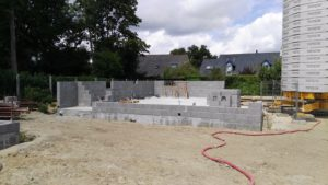Construction d'un pavillon neuf