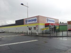 Biocoop de Chambray-Lès-Tours - Dominique Chaplet Architecte