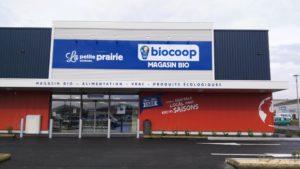 Aménagement d'un Biocoop à Bourgueil - Dominique Chaplet Architecte
